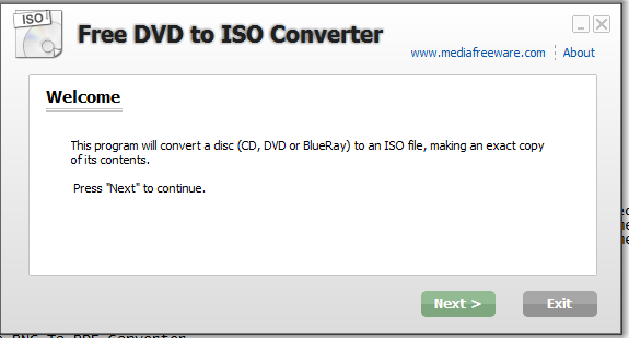 dvd to iso converter software free download