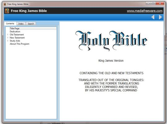 Free King James Bible