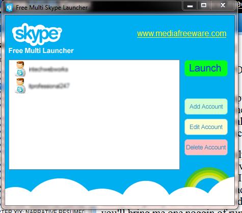 Free Multi Skype