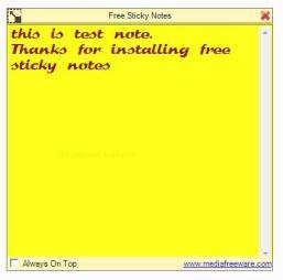 Free Sticky Notes