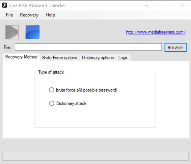 Free Rar Password Unlocker