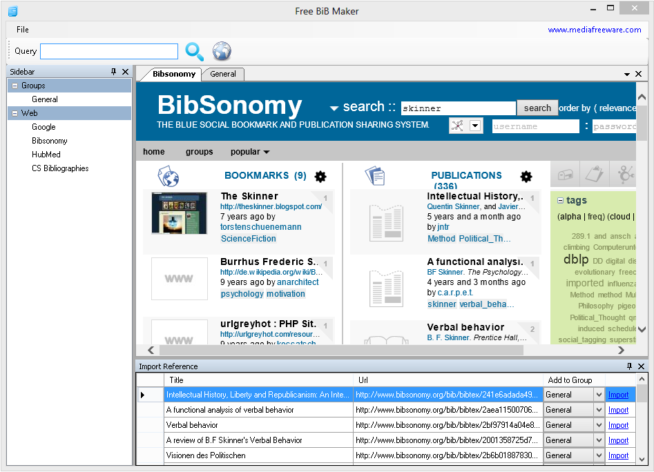 Free BiB Maker Screen shot