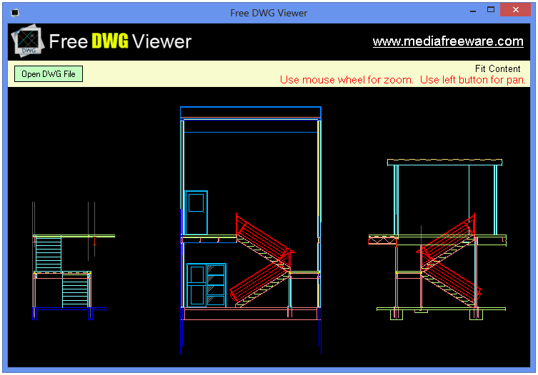Click to view Free DWG Viewer screenshots