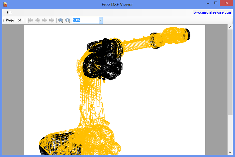 Click to view Free DXF Viewer screenshots