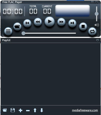 Free FLAC Player Screenshot