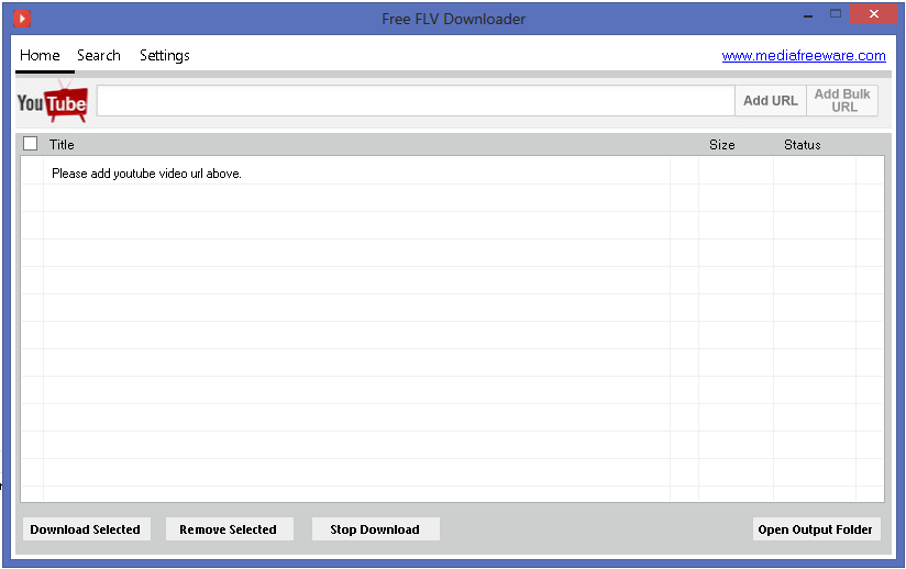 Free Flv Downloader