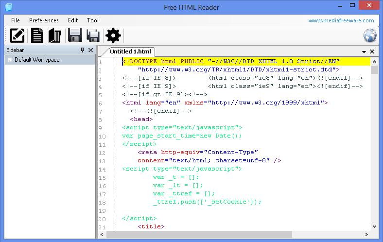 Free Html Reader