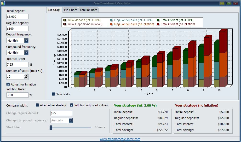 Click to view Free Investment Calculator screenshots