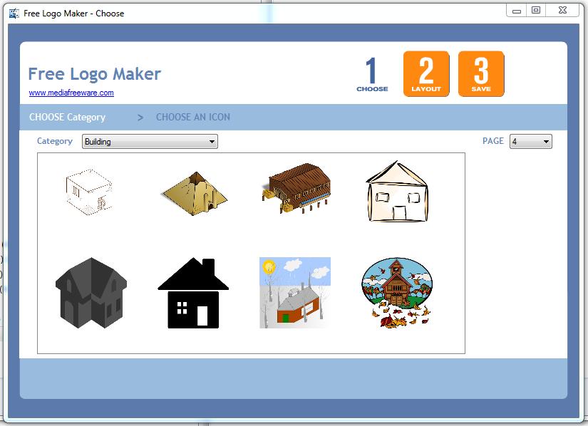 Click to view Free Logo Maker screenshots