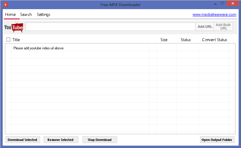 Free Mp4 Downloader