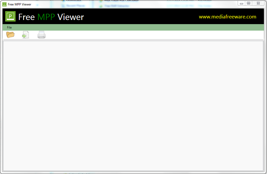 Click to view Free MPP Viewer screenshots