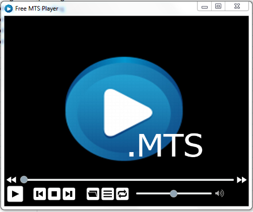 Click to view Free MTS Player screenshots