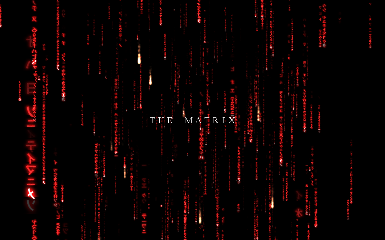 Free Matrix Screensaver Screen shot