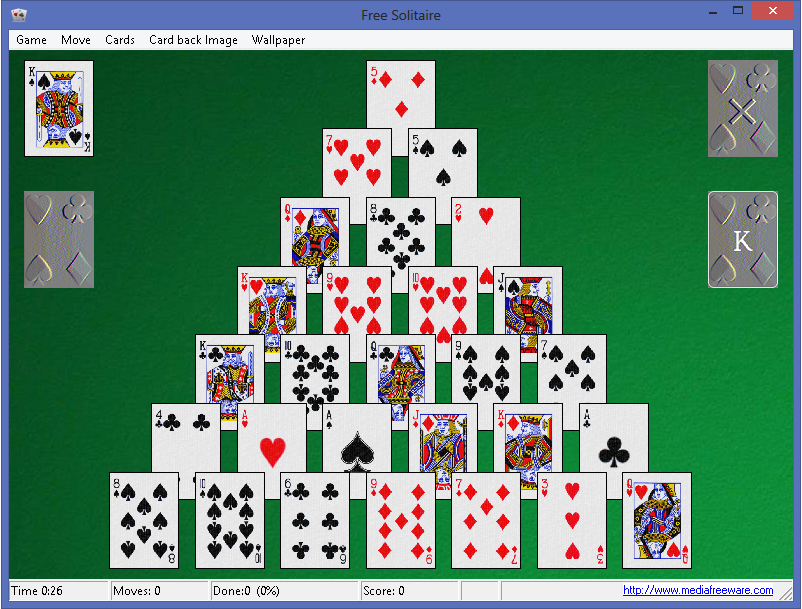 Free Solitaire Screen shot
