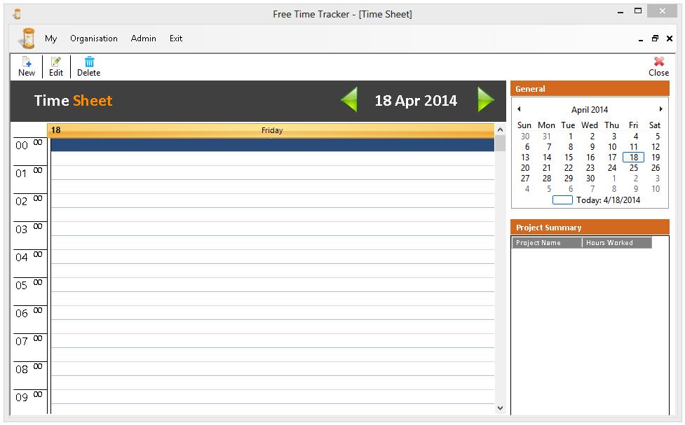 Free Time Tracker - Media Freeware Download