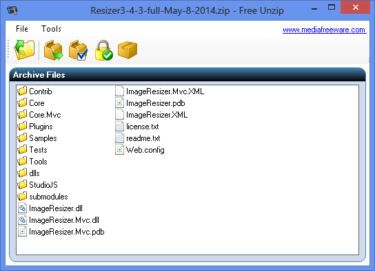 Free Unzip - Media Freeware Download