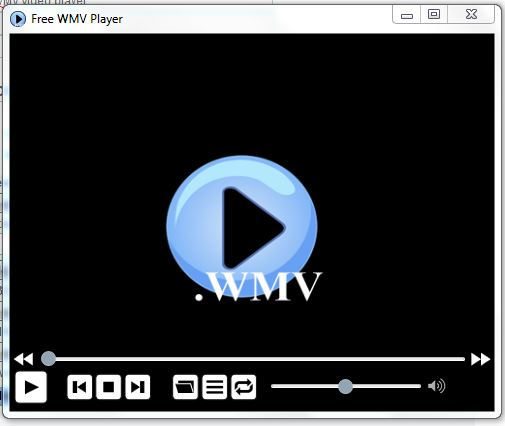 Click to view Free WMV Player screenshots